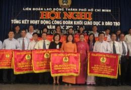 Tổng kết hoạt động Công đoàn năm 2012-2013