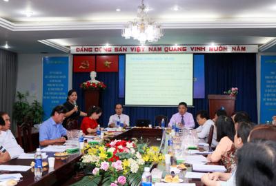 Hội nghị sơ kết Công đoàn giữa nhiệm kỳ 2018 – 2023