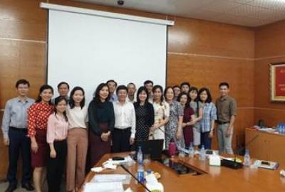 Hội nghị sơ kết giữa nhiệm kỳ (2017-2022) của Công đoàn trường Đại học Quốc tế - ĐHQG-HCM