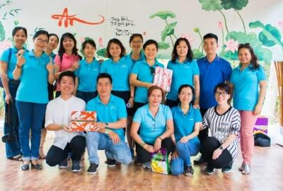 Công đoàn Thư viện Trung tâm tổ chức giao lưu với các công đoàn Thư viện trường đại học tại Khu Du lịch Tre Việt