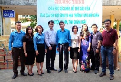 Công Đoàn ĐHQG-HCM đồng hành Vì Biển Đảo Quê Hương