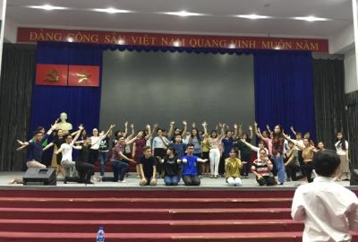 Hội thi Văn nghệ Công đoàn ĐHQG-HCM 2019: Chuẩn bị cho giờ G – Các đơn vị tích cực tập luyện