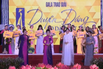 Cuộc thi Duyên dáng Áo dài: Công đoàn ĐHQG-HCM đoạt Hoa Khôi, Á Khôi 1, Á Khôi 2