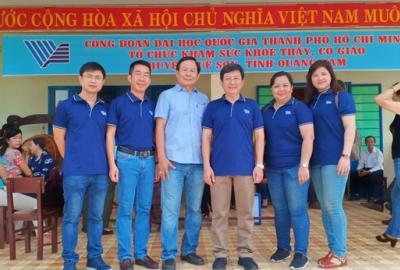 Thăm, tặng quà 02 người mẹ Việt Nam Anh hùng và tổ chức công tác thiện nguyện xã hội tại Quảng Nam