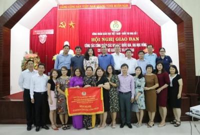 Hội nghị giao ban công tác Công đoàn của 2 Đại học Quốc gia, 3 Đại học Vùng và Cơ quan Bộ Giáo dục & Đào tạo được tổ chức tại Huế