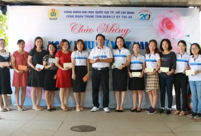 Họp mặt CBCNV nữ nhân kỷ niệm 89 năm ngày thành lập Hội liên hiệp Phụ nữ Việt Nam (20/10/1930 – 20/10/2019)