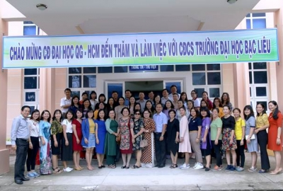 Công đoàn ĐHQG-HCM giao lưu với Công đoàn Trường ĐH Bạc Liêu