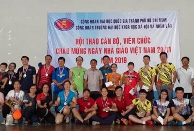 Hội thao chào mừng kỷ niệm 37 năm ngày nhà giáo Việt Nam 20/11/2019