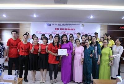 Chào mừng 37 năm ngày Nhà giá Việt Nam: Công đoàn cơ quan ĐHQG-HCM tổ chức hội thi karaoke