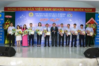 Trung tâm Quản lý Ký túc xá tổ chức họp mặt CBCNV nhân kỷ niệm ngày Nhà giáo Việt Nam 20/11