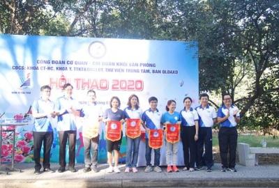 Khai mạc hội thao Công đoàn Cơ quan ĐHQG-HCM