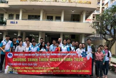 Chương trình thiện nguyện của Công đoàn Trường Phổ thông năng khiếu